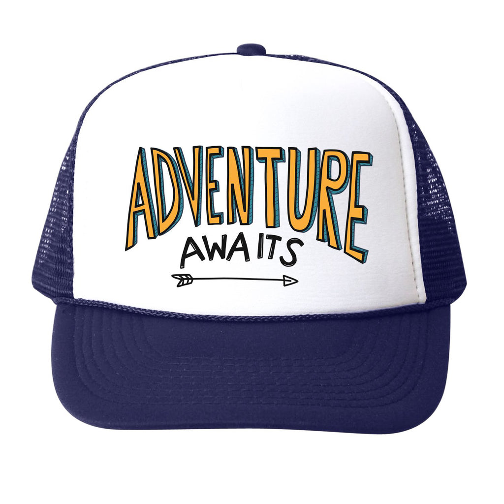 adventure awaits - hat