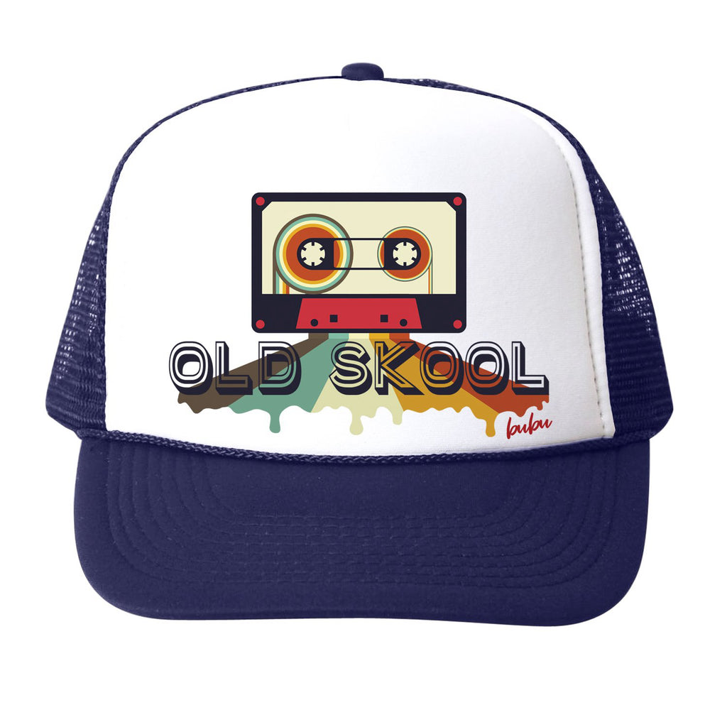 old skool cassette tape - hat