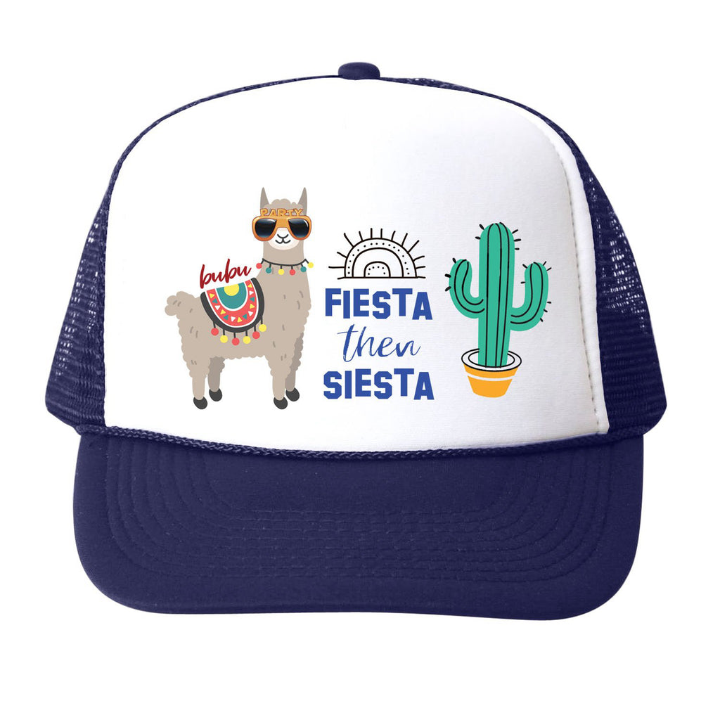 fiesta then siesta navy - hat