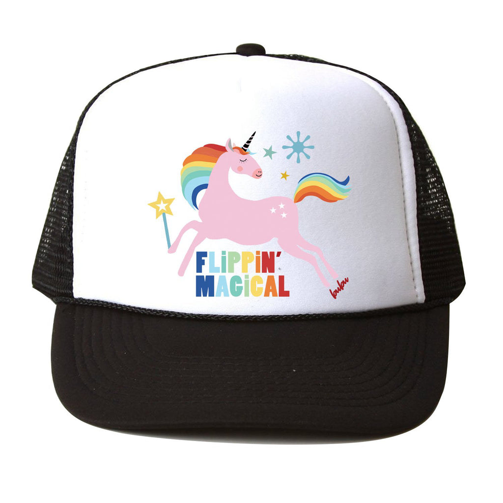 flippin magical unicorn - hat
