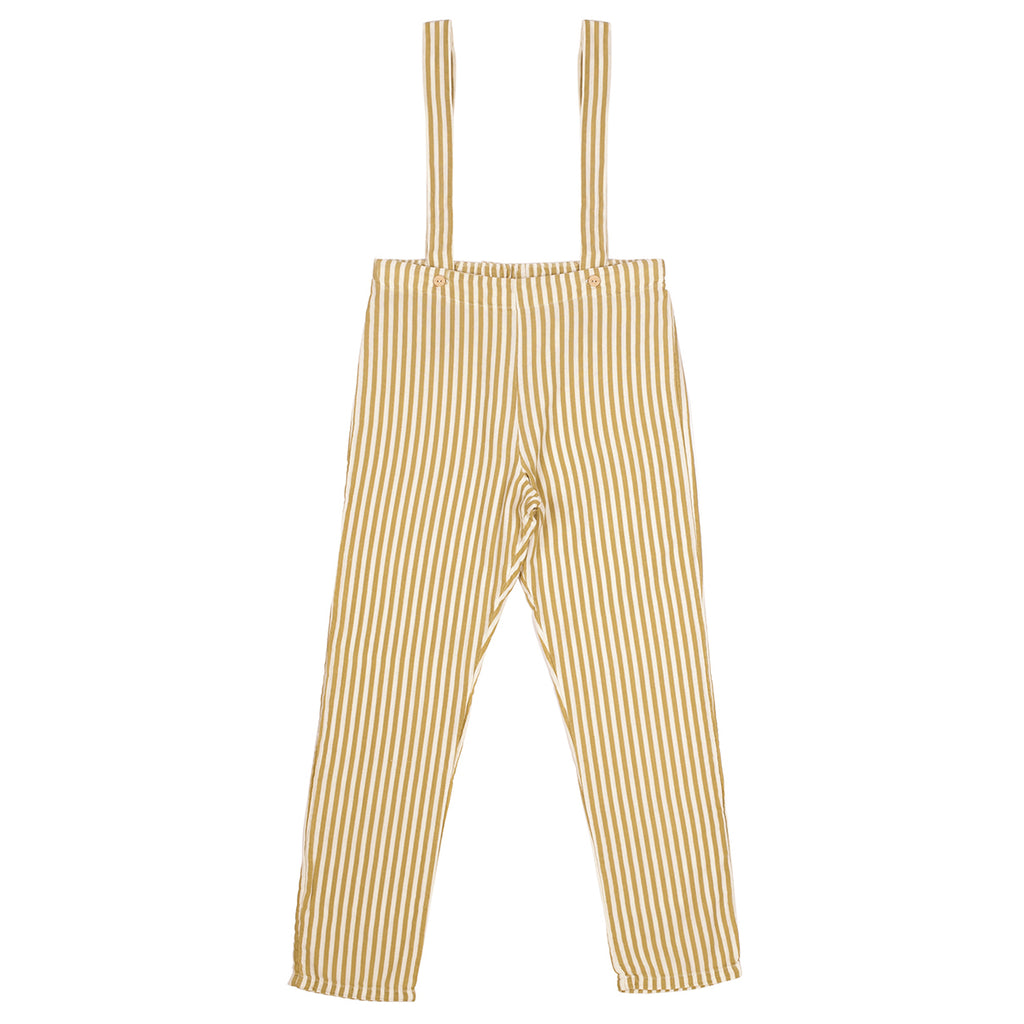 stripe suspenders - pants