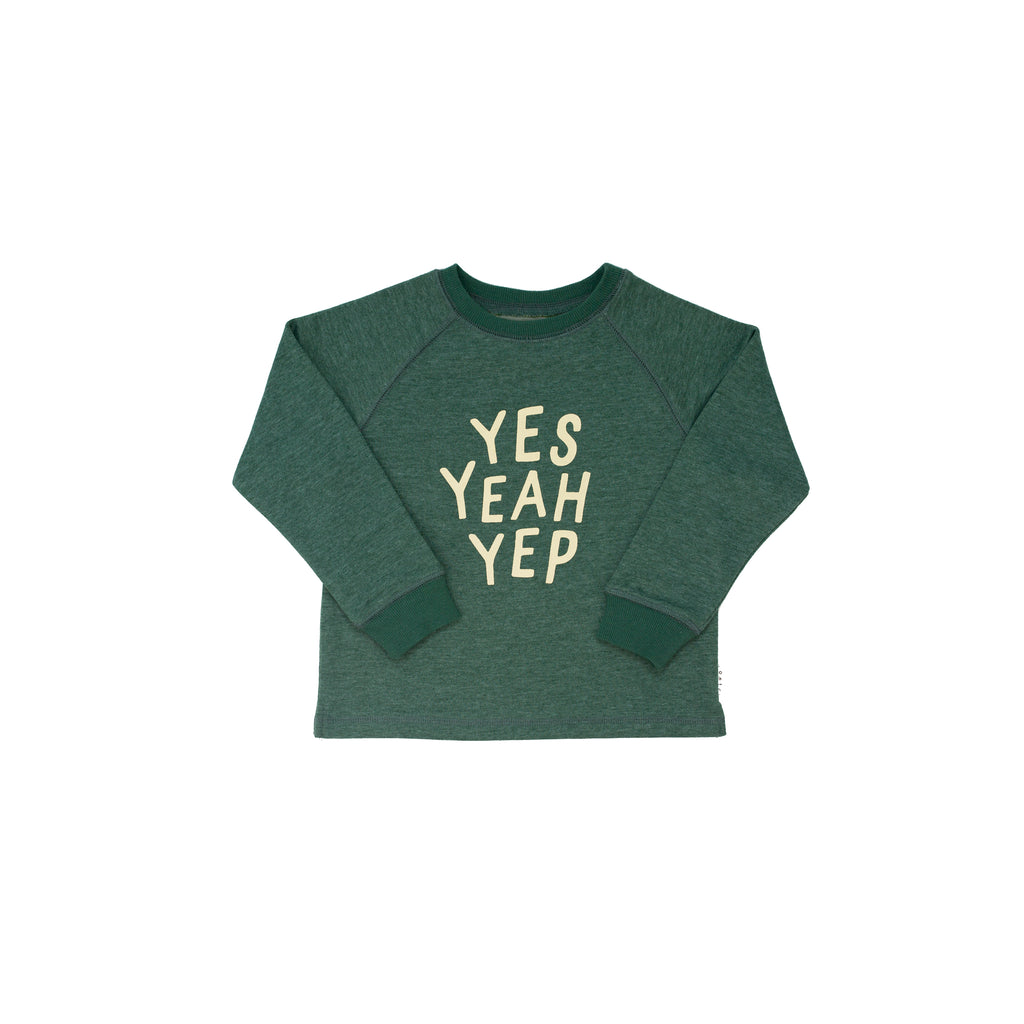 yes yeah yep - sweater
