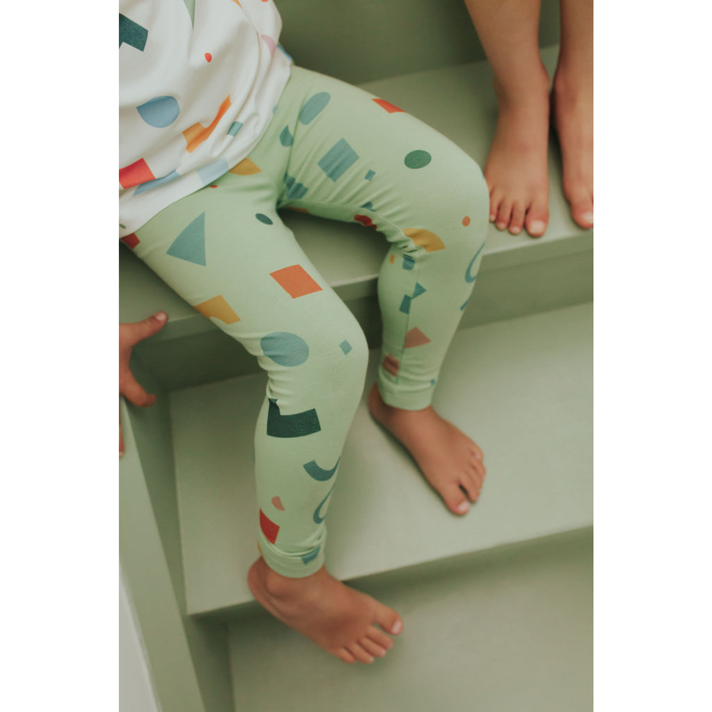 shapes multi green grass - legging