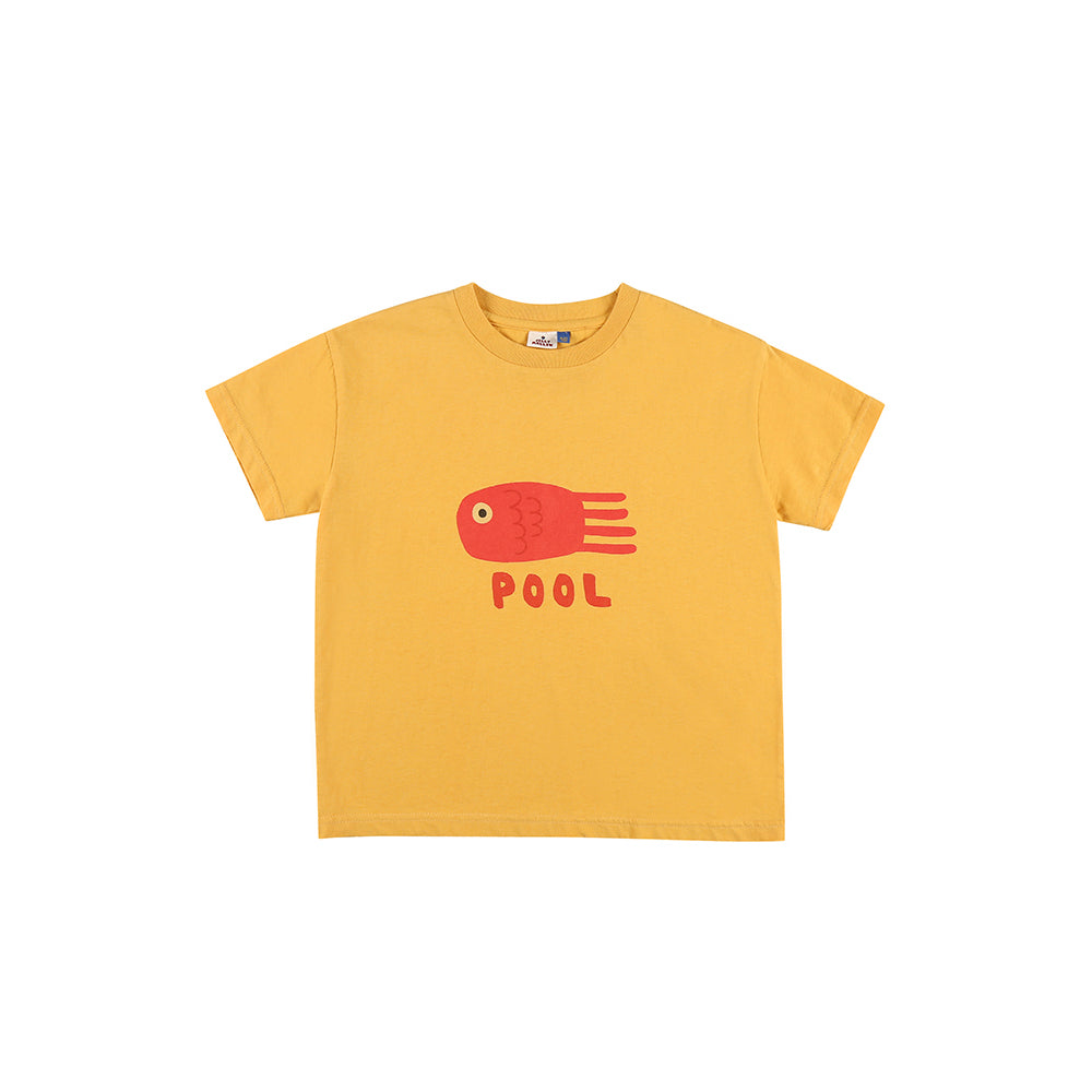 yellow pool - t-shirt