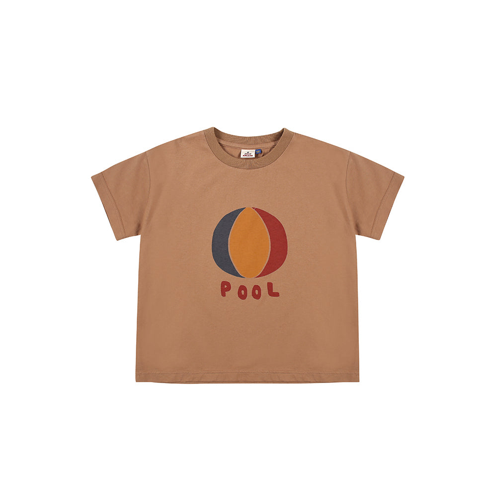 brown beach ball - t-shirt