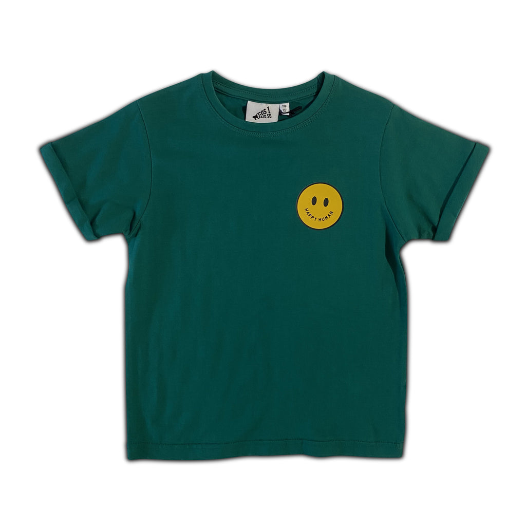 happy human smiley - t-shirt