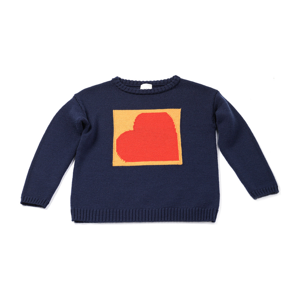 navy love - knit