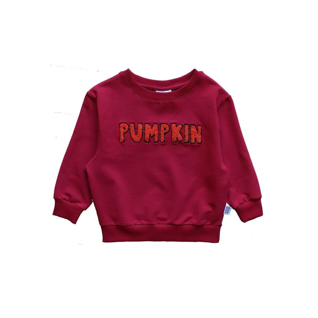 orange pumpkin - sweater