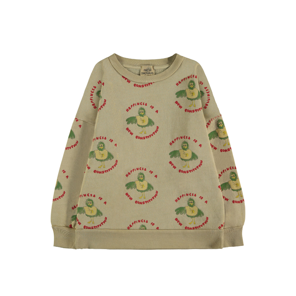 happiness print - sweater