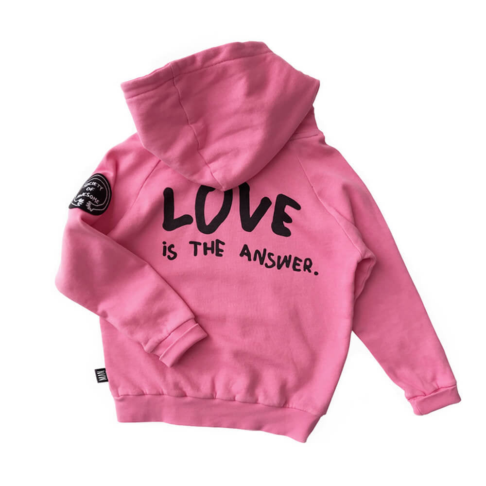 Love is the answer hoodie - sweater