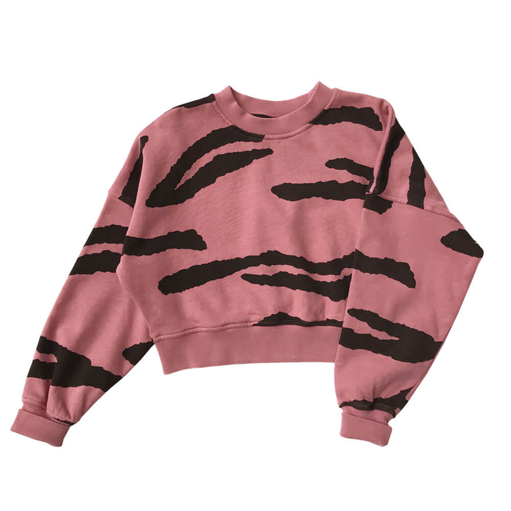 tiger cropped - sweater