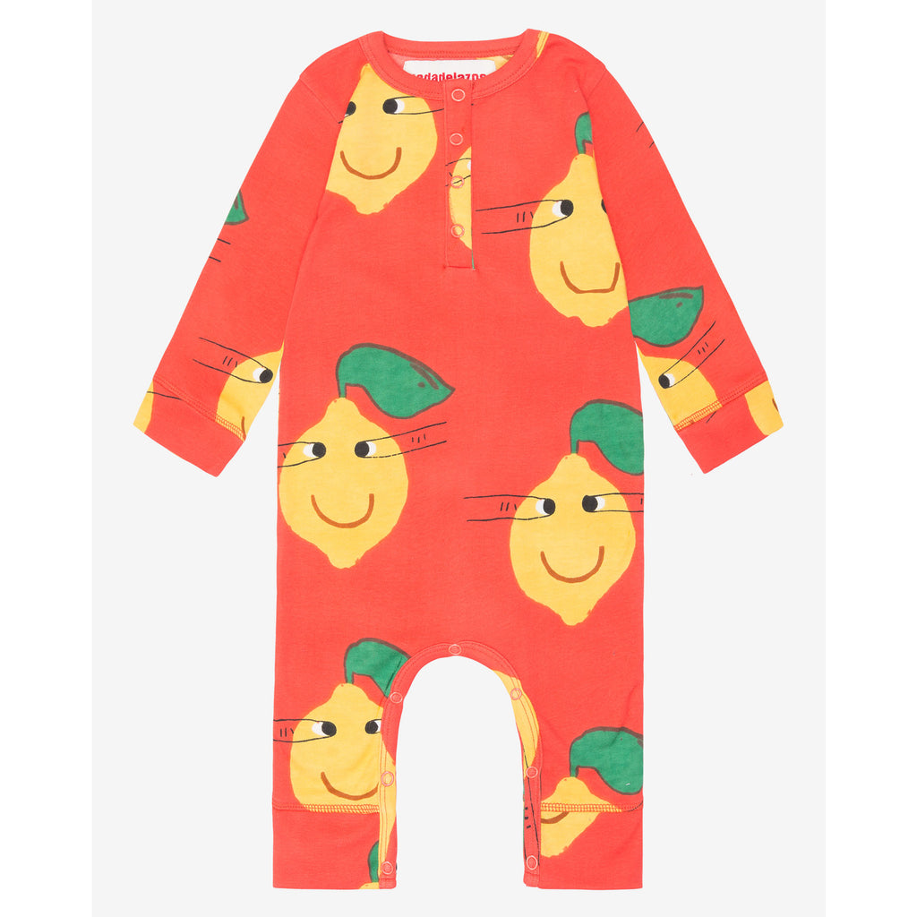 lemon faces - onesie