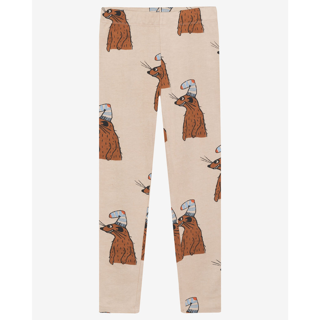 squirrel & hat - legging