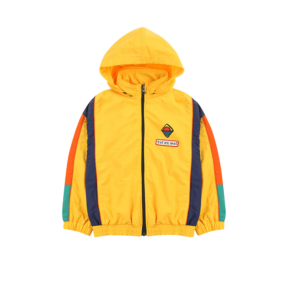 retro wind breaker  - jacket