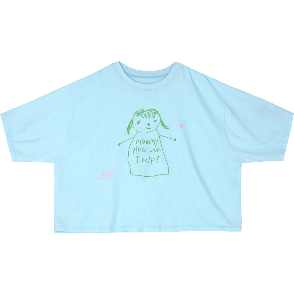 mommy light blue - t-shirt