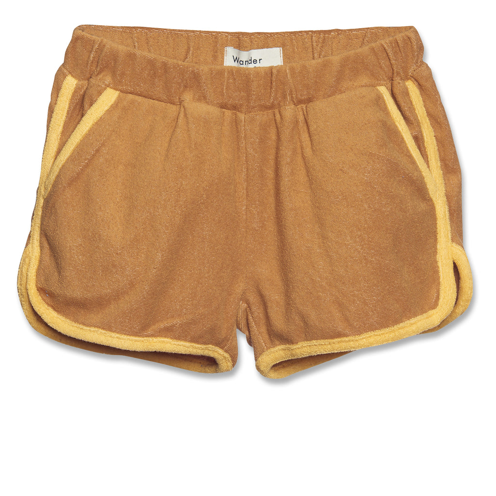brown gym - shorts