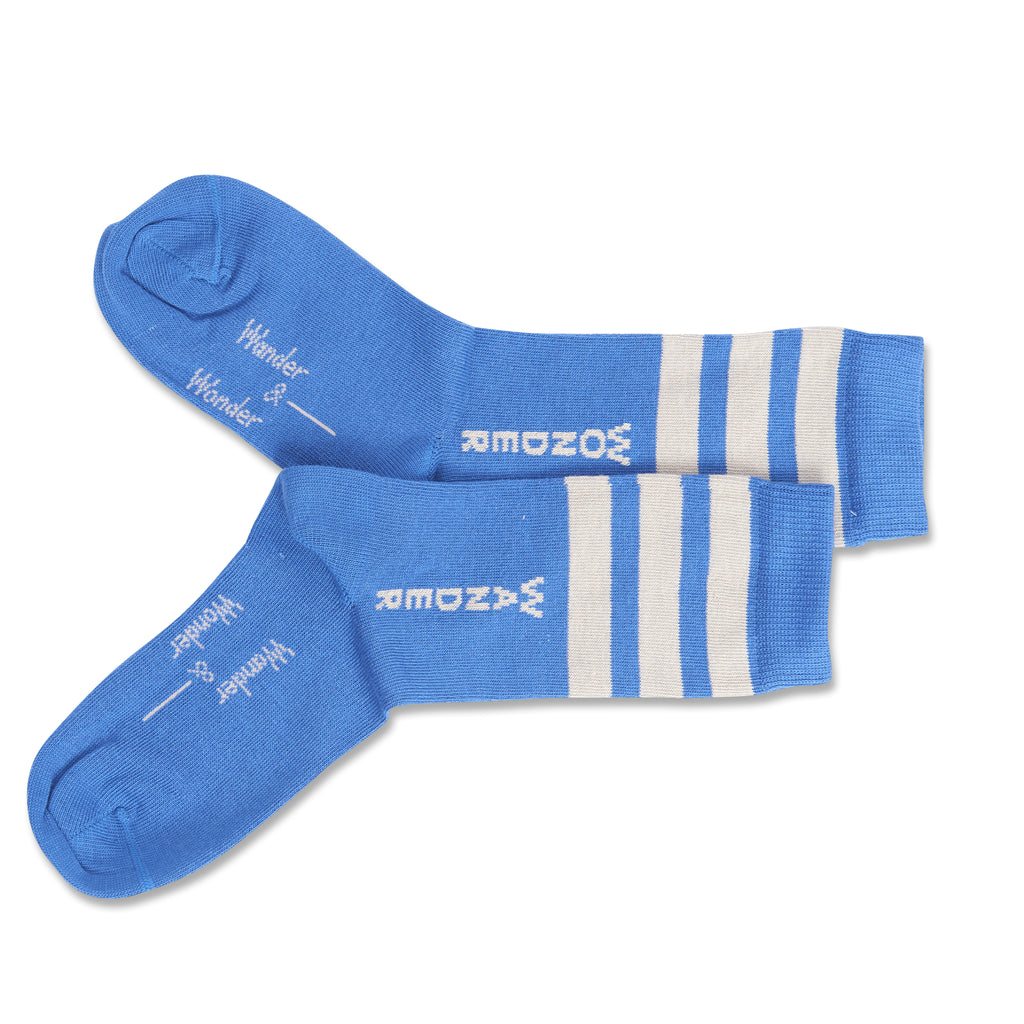 blue stripe - socks