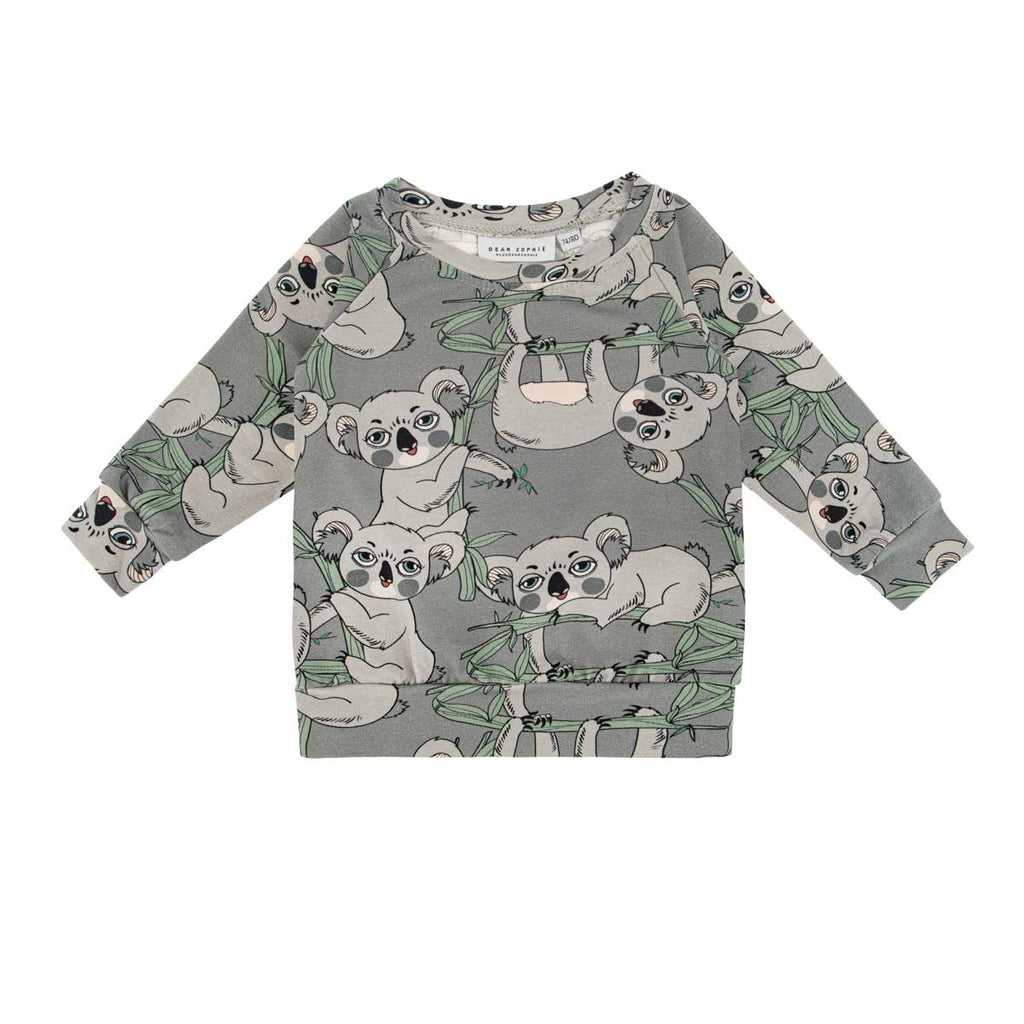 koala grey ls - t-shirt