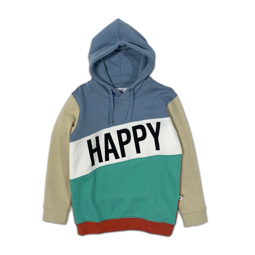 happy human faded denim - sweater