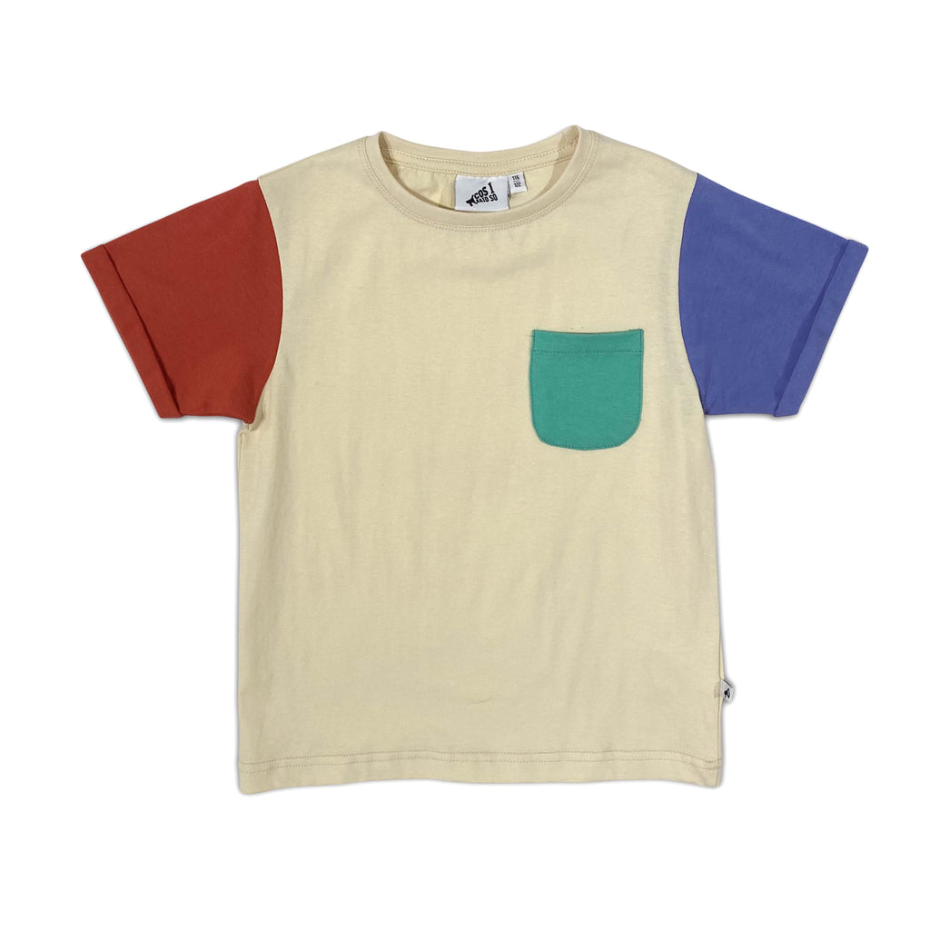 color block navajo - t-shirt