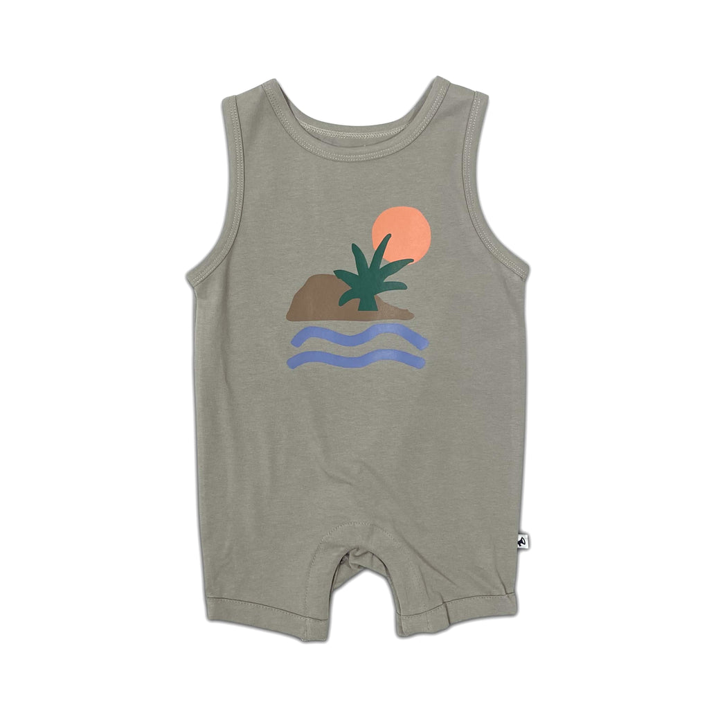 sleeveless sunset - onesie