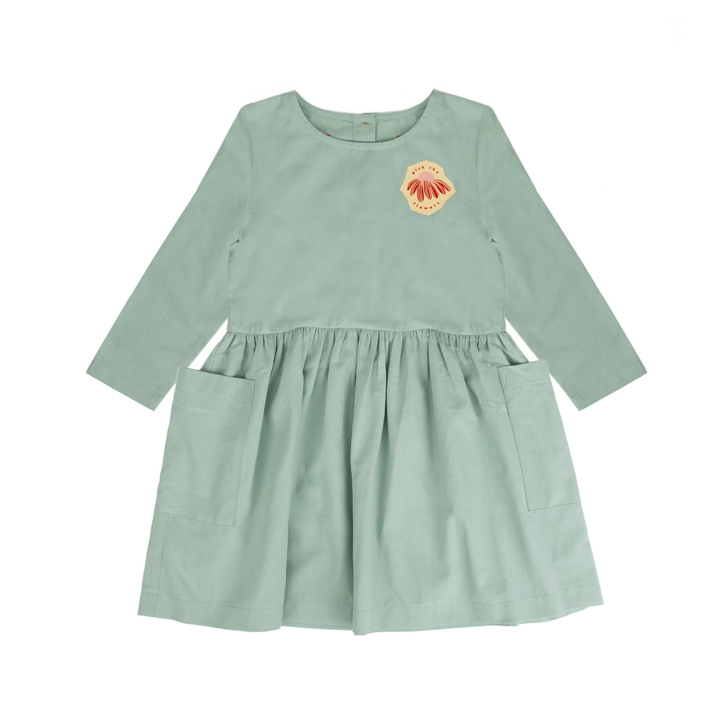 pick flowers - dress