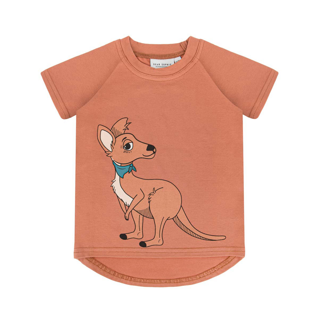 cangaroo red brick - t-shirt