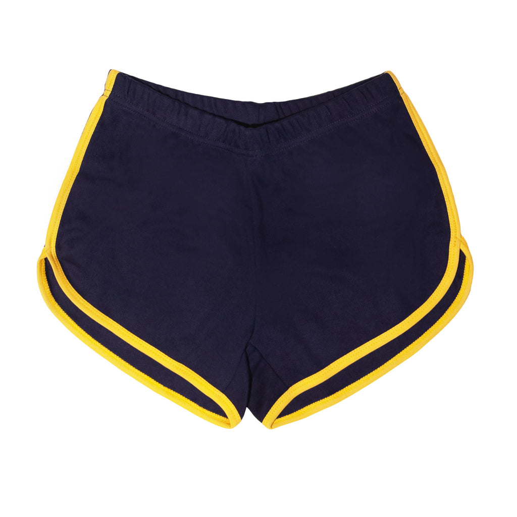 retro navy blue - adult shorts
