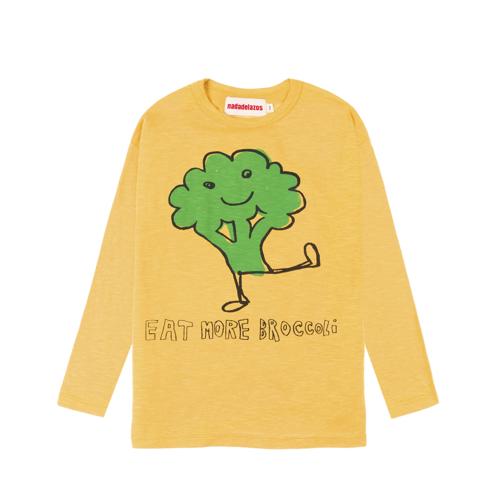 eat more broccoli ls  - t-shirt