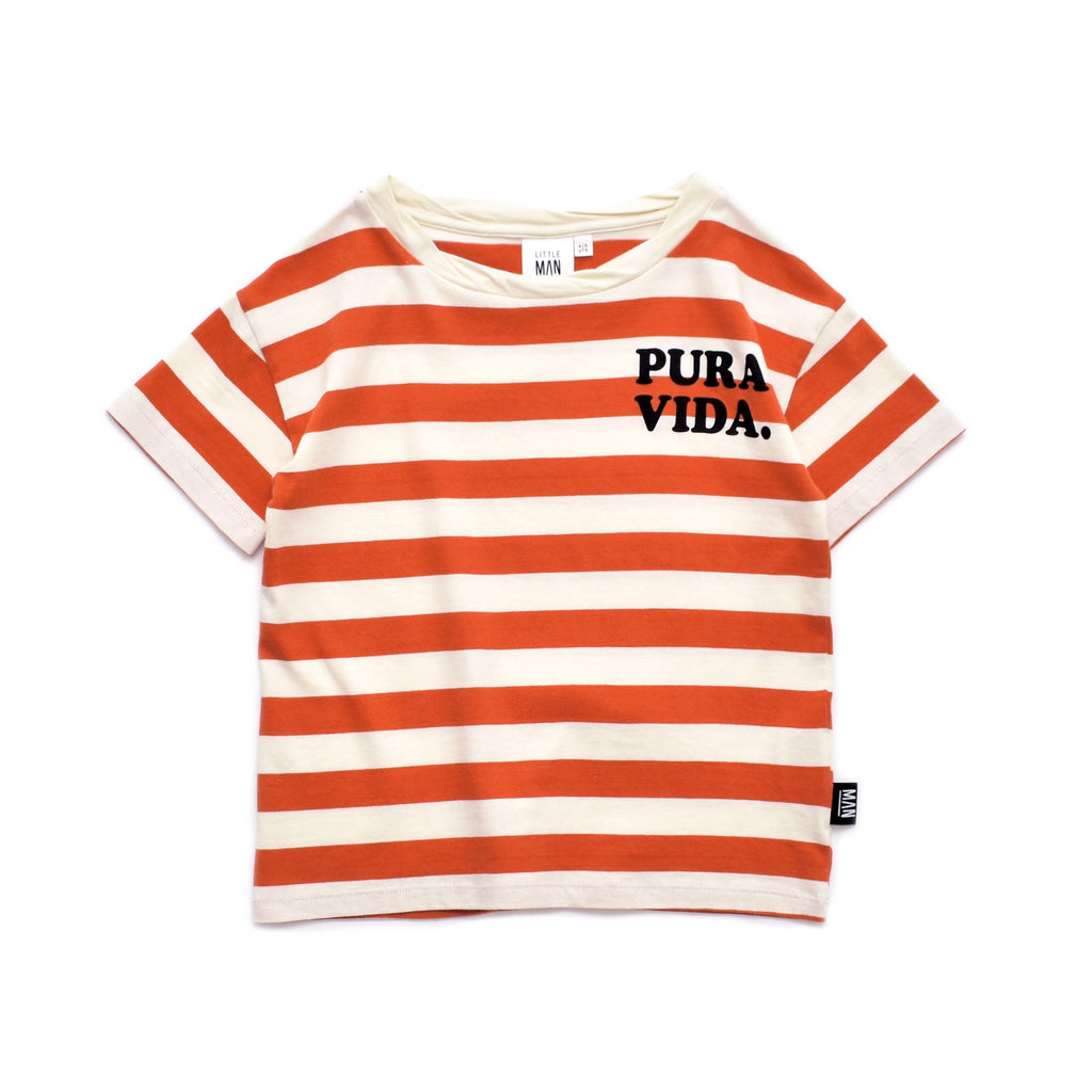 pure vida stripe - t-shirt