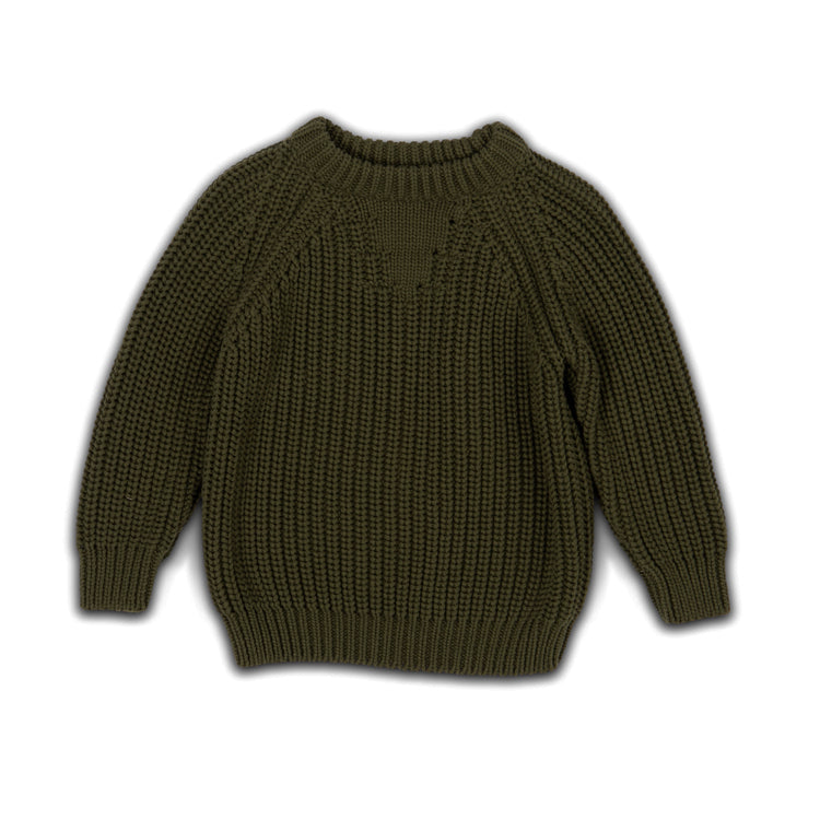chunky forest  - knit