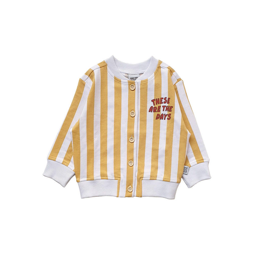 yellow stripe - sweater