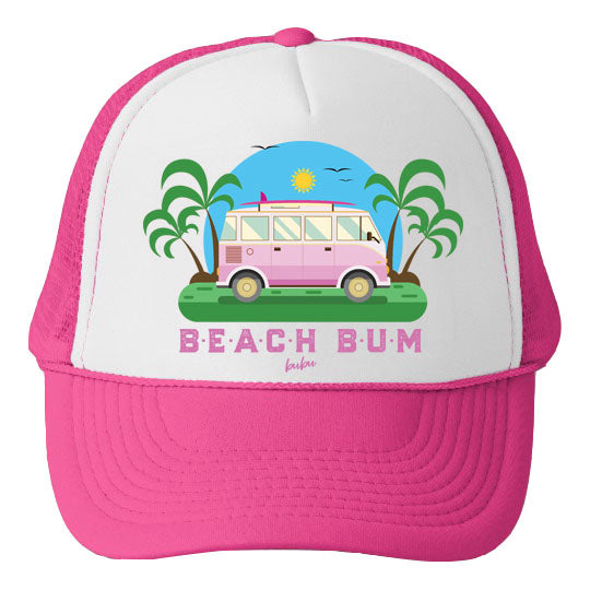 beach bum pink - hat