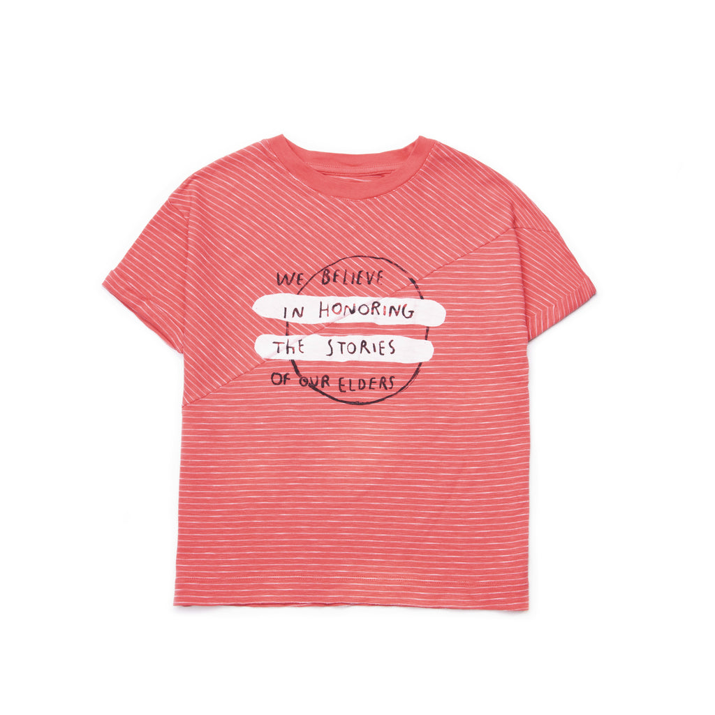 coral believe - t-shirt