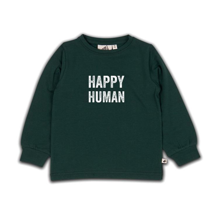 happy human sea moss ls - t-shirt