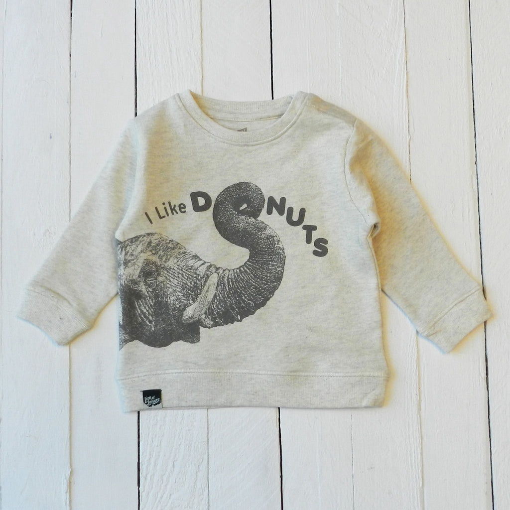 baby elephant - sweater