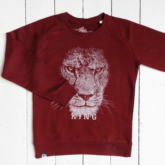 lion - sweater