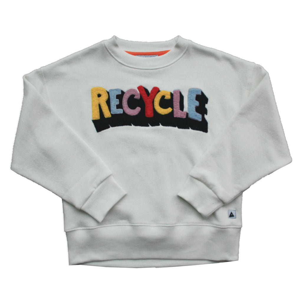 recycle toweling - sweater