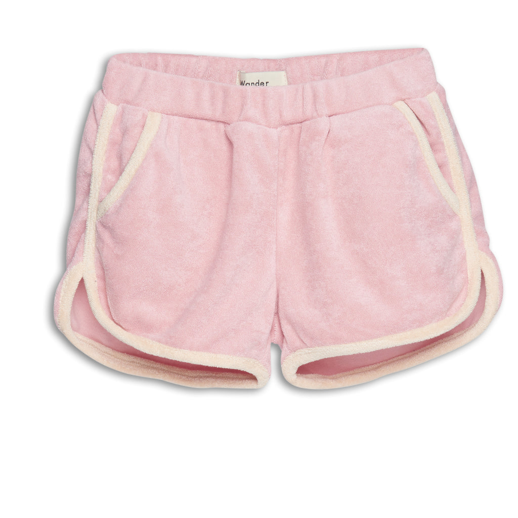 terry pink - pants