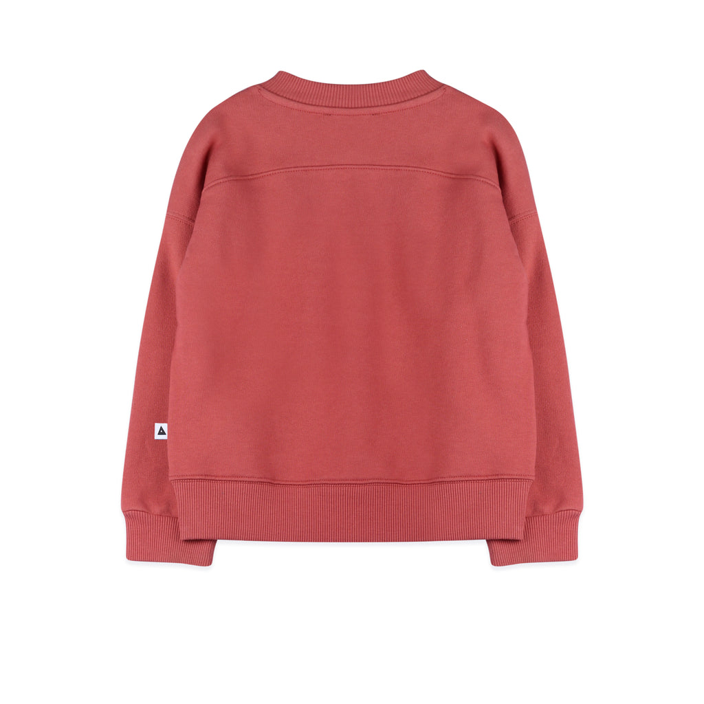 rocky soft red  - sweater