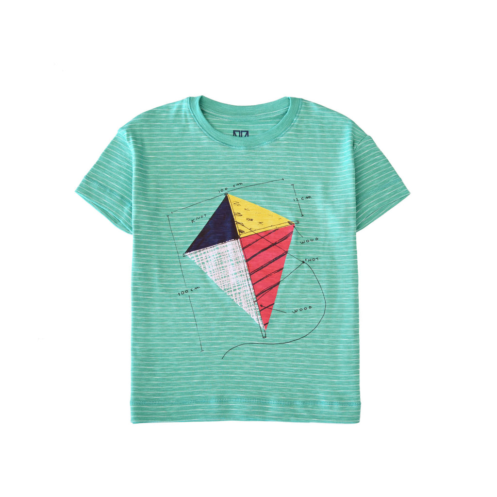 gum green kite - t-shirt