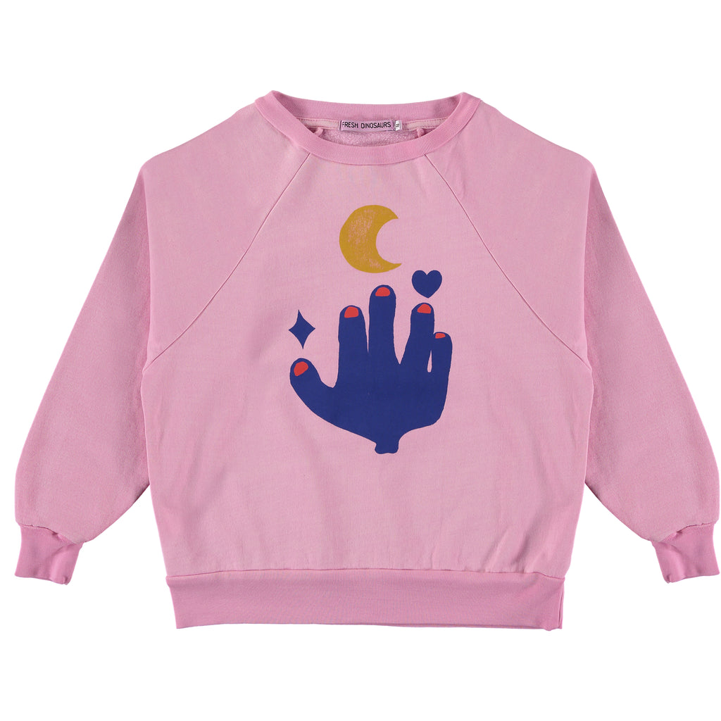 love tot the moon - sweater