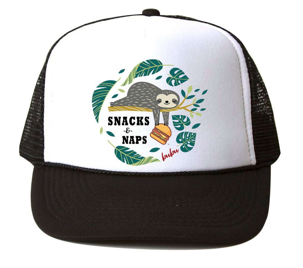 snacks n naps  - hat