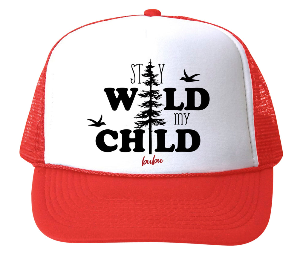 stay wild my child red - hat