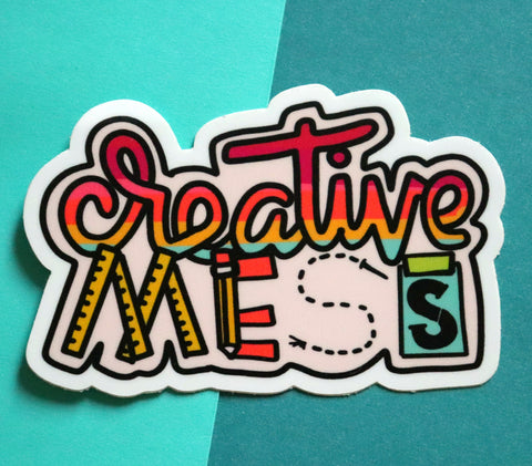 Creative Mess Sticker