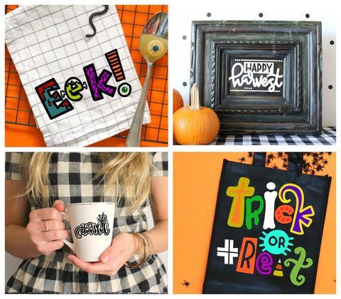 FALL-O-Ween cut file bundle