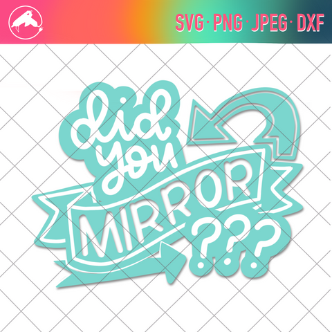 Did you mirror? cut file