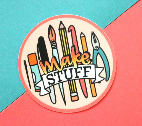 Make stuff Sticker