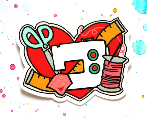 Sewing Sticker