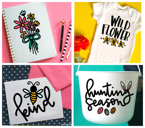 Spring Cut file Bundle